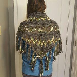 Free people knit shawl